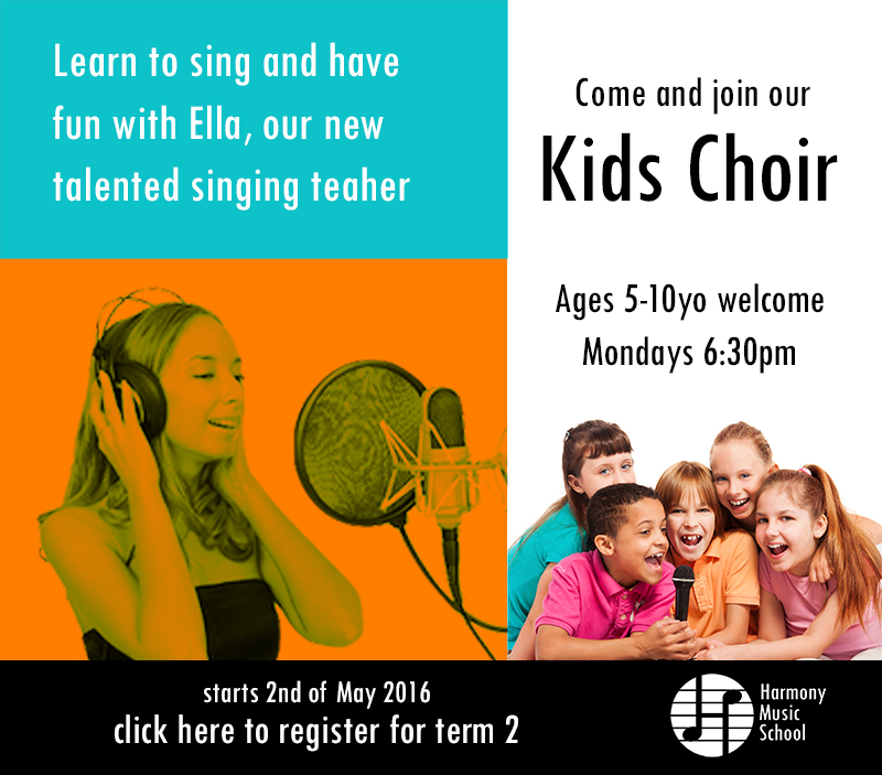 Kids Choir Invitation